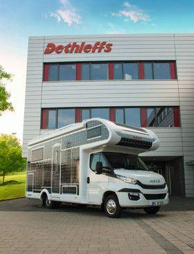Elektromobilität im Caravaning: Dethleffs präsentiert als erster namhafter Hersteller die Studie eines vollelektrisch angetriebenen Reisemobils