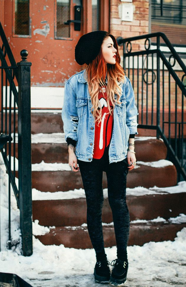 We love Le Happy's take on rock n roll denim.