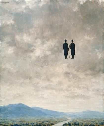 René Magritte - L'Art de la Conversation [The Art of Conversation]
