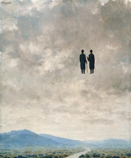 René Magritte - L'Art de la Conversation [The Art of Conversation]