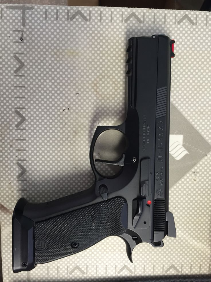 Cz 75 sp-01 shadow black  Loading that magazine is a pain! Get your Magazine speedloader today! http://www.amazon.com/shops/raeind