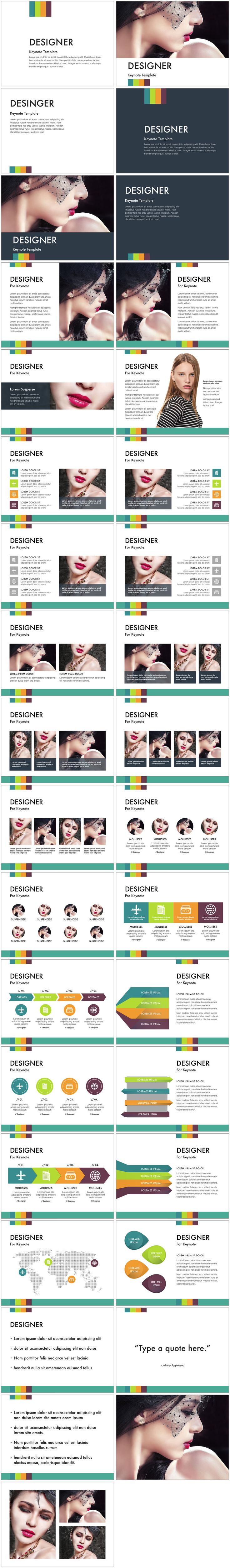 Designer Keynote Template. Presentation designs by Deeda Designs - take your presentation from standard to stunning with these professionally designed keynote themes.