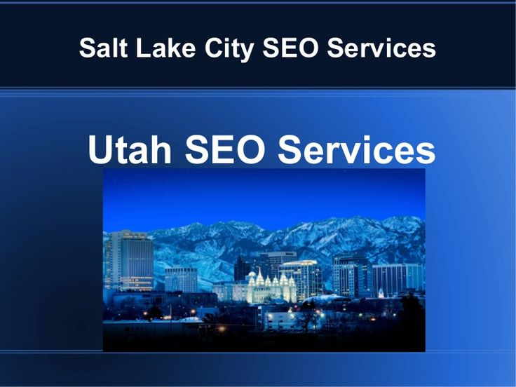 White SEO Services in Salt Lake City, UT  #SaltLakeCity #SEO #Utah