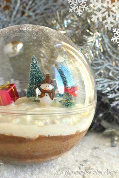 Bûche de Noël aux marrons boule