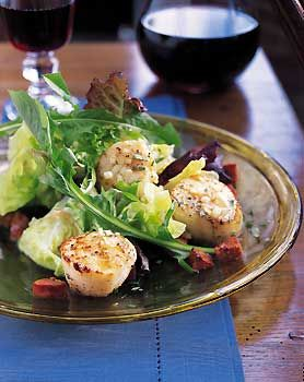 131 best best seafood fish recipes images on pinterest fish sauteed scallops with andouille and baby greens forumfinder Gallery