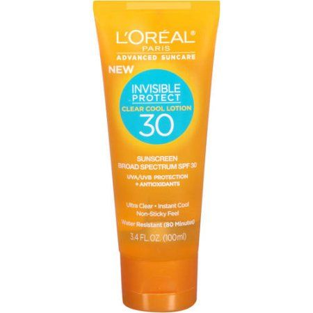 Loreal Paris Advanced Skincare Invisible Protect Clear Cool Lotion SPF30 - Google Search
