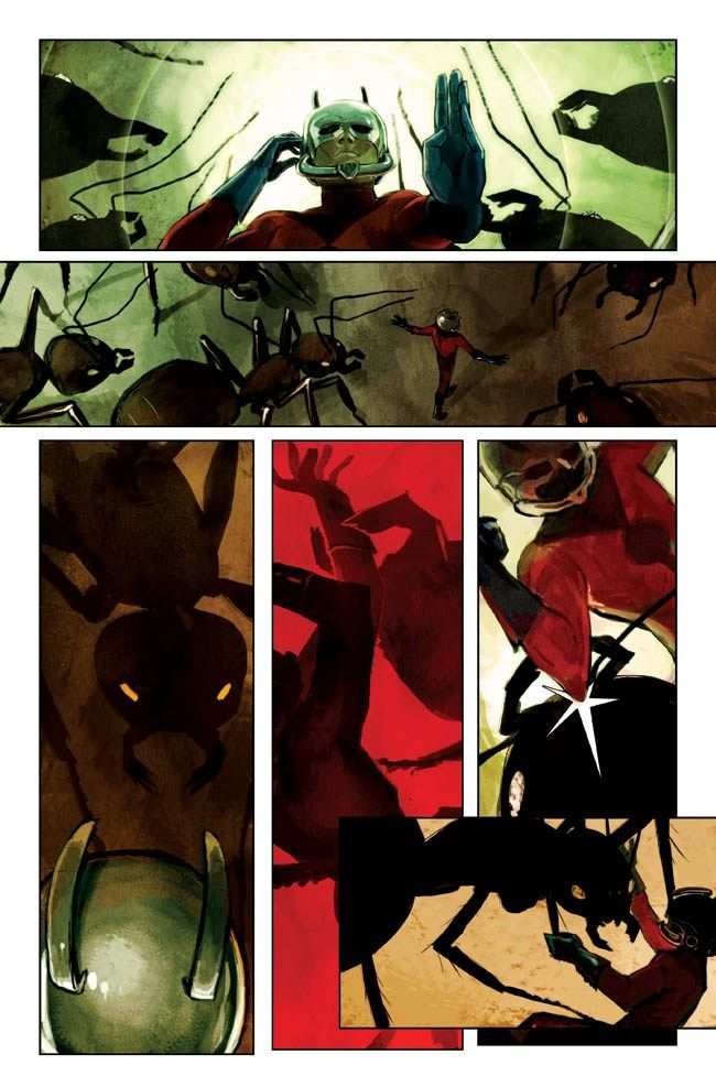 Hank PYM (ANT-MAN) | An ARTIST: Stephanie HANS