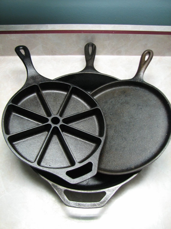 I could use some nice cast-iron pans...