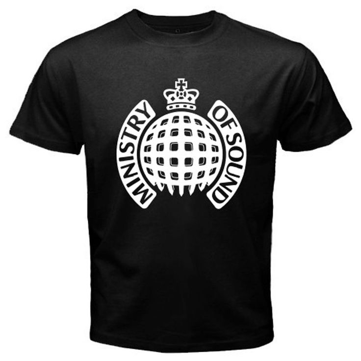 >> Click to Buy << New Ministry of Sound Dance House Music Logo Men's Black T-Shirt Size S to 2XL Cartoon Print Short Sleeve T Shirt Free Shipping #Affiliate