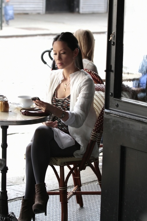 Lucy Liu in Elementary, just something about her style.