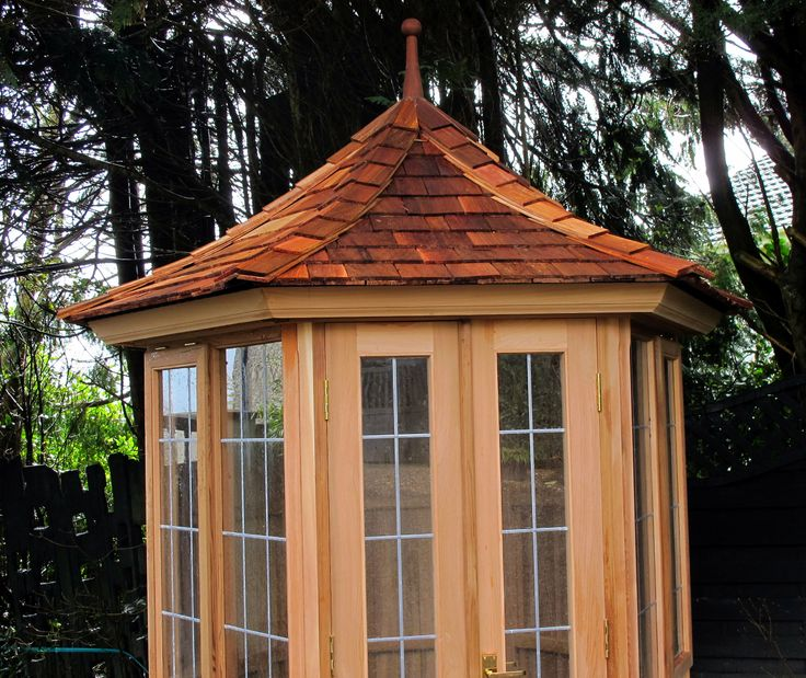 Victorian Garden Buildings - hand made to order by experienced craftsmen in Western Red Cedar. www.victoriangardenbuildings.com