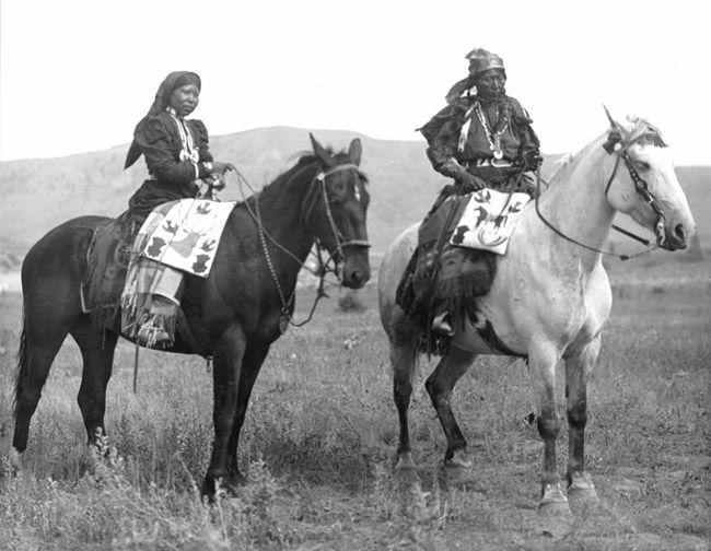 nez perce horse | Nez Perce Nimiipu with horses, Washington, Indian Peoples Digital ...