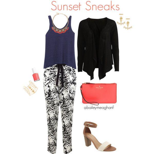 Essie Inspired: Sunset Sneaks