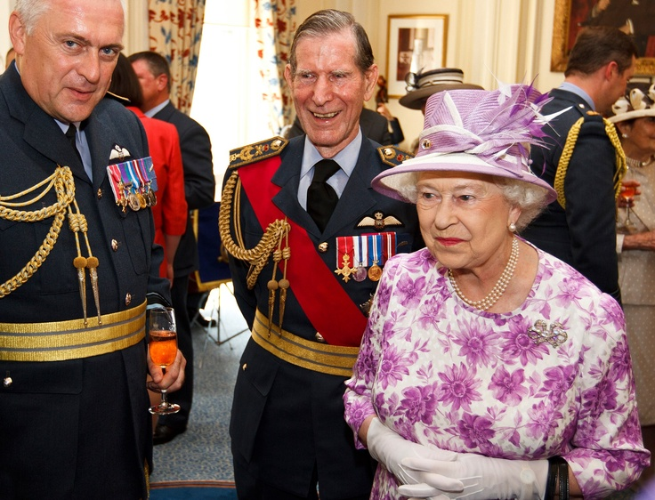 Our patron, Her Majesty The Queen came to lunch at The RAF Club in June.