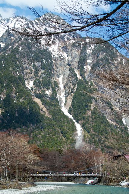 """The """"Japanese Alps,"""" Kamikōchi is a remote mountainous highland in the western portion of Nagano Prefecture, Japan"""