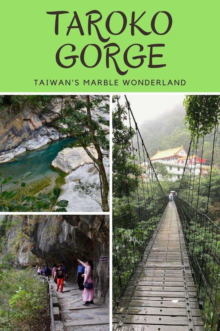 Discover stunning Taroko Gorge, the jewel in Taiwan's crown and an easy day trip from the capital, Taipei. ---------------- Taroko National Park | Hualien | Taiwan travel | Taipei travel ---------------- #taroko #tarokonationalpark #tarokogorge #taiwan #hualien
