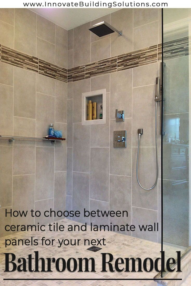 How To Compare Ceramic Tile Surrounds Vs Laminate Shower Wall