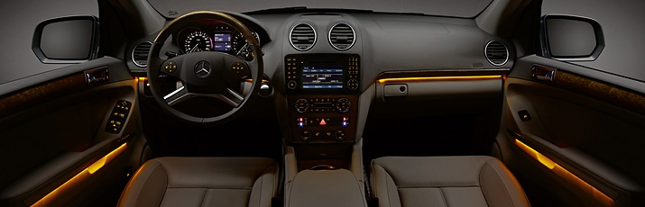 ambient lighting increases spatial perception this makes the car interior feel more spacious. Black Bedroom Furniture Sets. Home Design Ideas