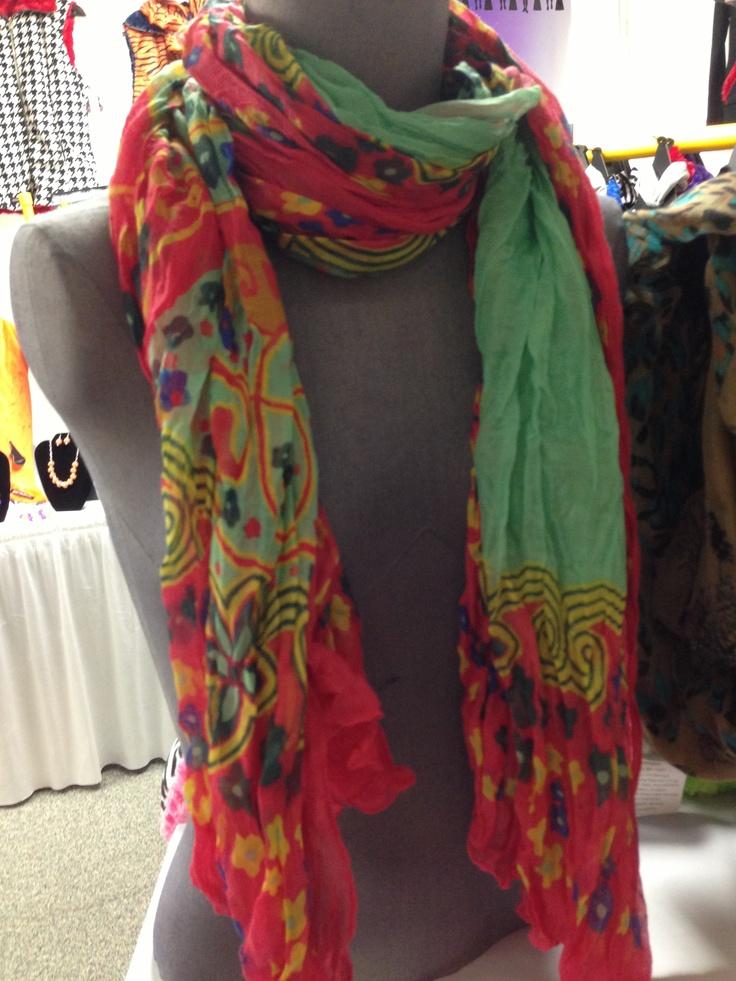 New scarf coming soon!! Beautiful colors!!