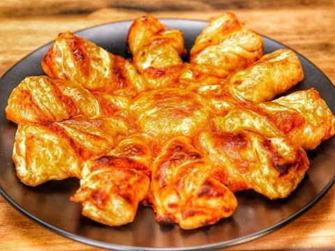 Pizza Puff Pastry Twists - YouTube