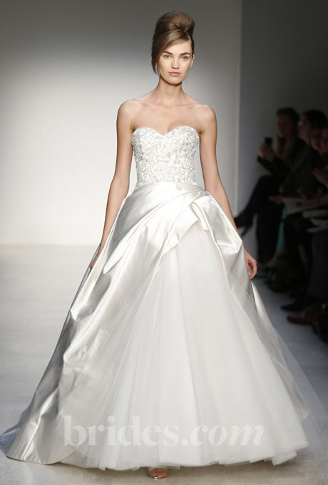 Brides: Kenneth Pool - Fall 2013 | Bridal Runway Shows | Wedding Dresses and Style | Brides.com