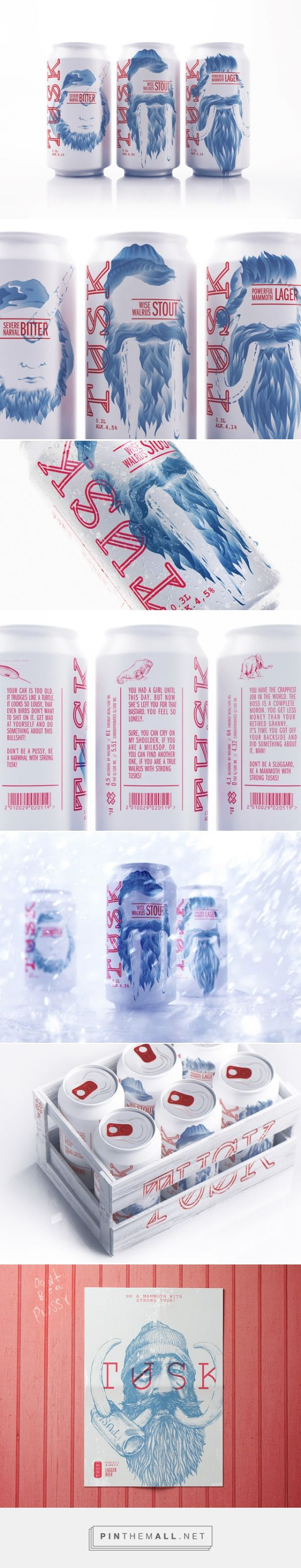 Tusk Craft Beer (Concept)