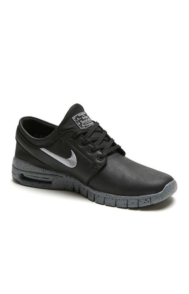 Nike SB Stefan Janoski Max L NYC Shoes - Mens Shoes - Black