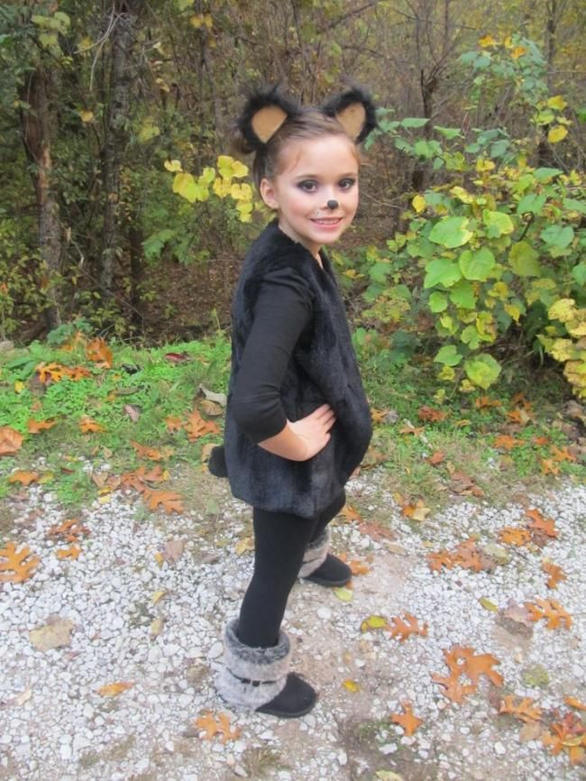 A bear costume for kids.                                                                                                                                                                                 More