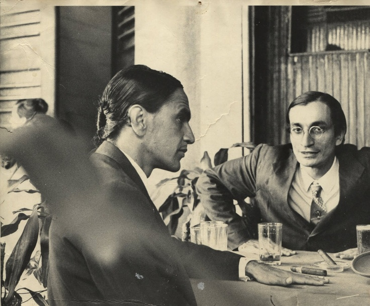Caetano Veloso e Antonio Cicero