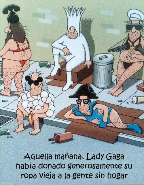 Ropa usada de Lady Gaga