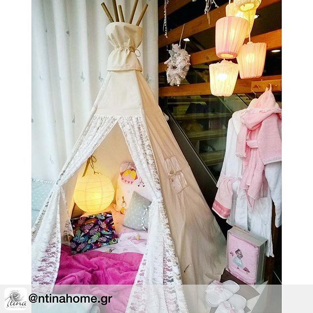 "Our ""pure lace"" #teepee  #teepeelicious #glamping #tipi #happykids #homedecor #homedecoration #kidsinterior #kidsinspo #kidsroominspo #girlroomdecor #lace #lights #giftideas #eventinspo #eventideas #barnrum #nurserydecor #pillows"