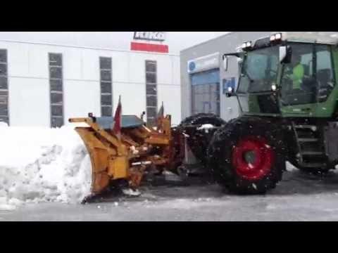 Fendt Xylon Winterdienst - YouTube
