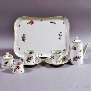 Limoges Porcelain Tea Set