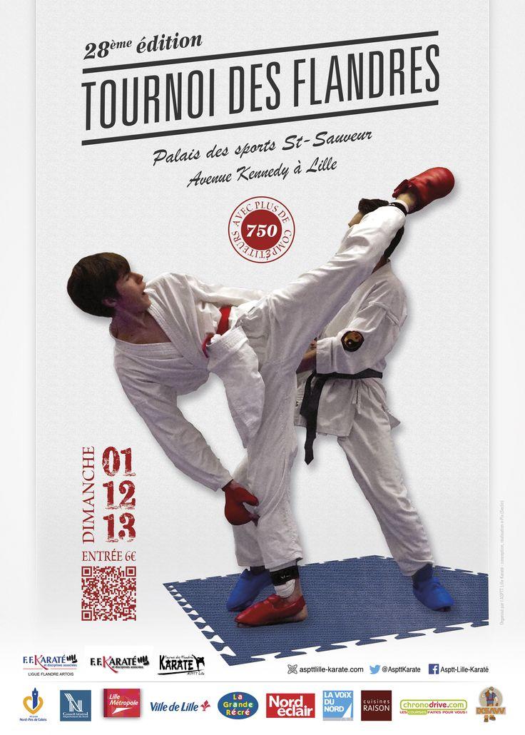 Tournoi des Flandres 2013 affiche