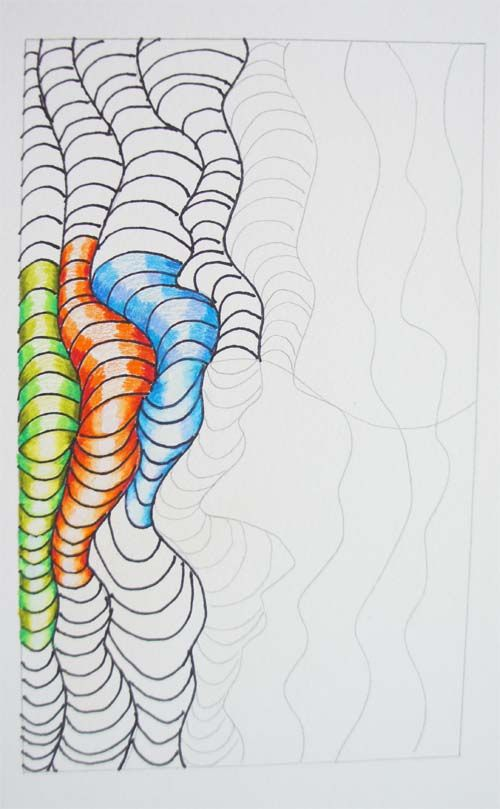 Art project: Colorful Optical Design