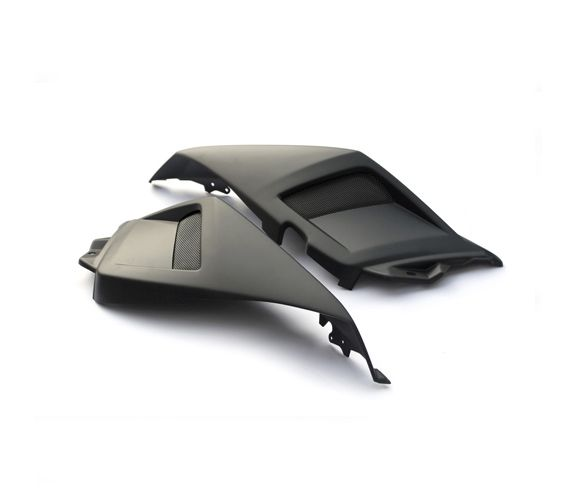 """BCD Coque arriere XT """"NOIR MAT BCD"""" (supprime les poignees passager) Yamaha T-MAX / TMAX 530T-MAX 530 4t LC inject (à partir de 2012)"""
