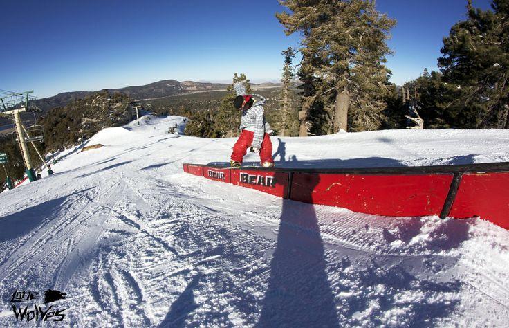 Ema Giga in #bearmountain #california #snowboard