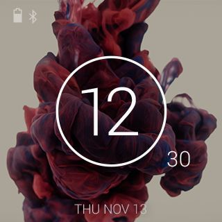 Behance Watch Faces - screenshot