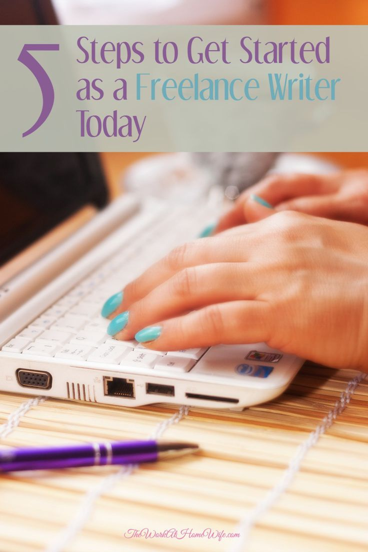 Here are five steps that you can take starting today to get you on the freelance writing track.
