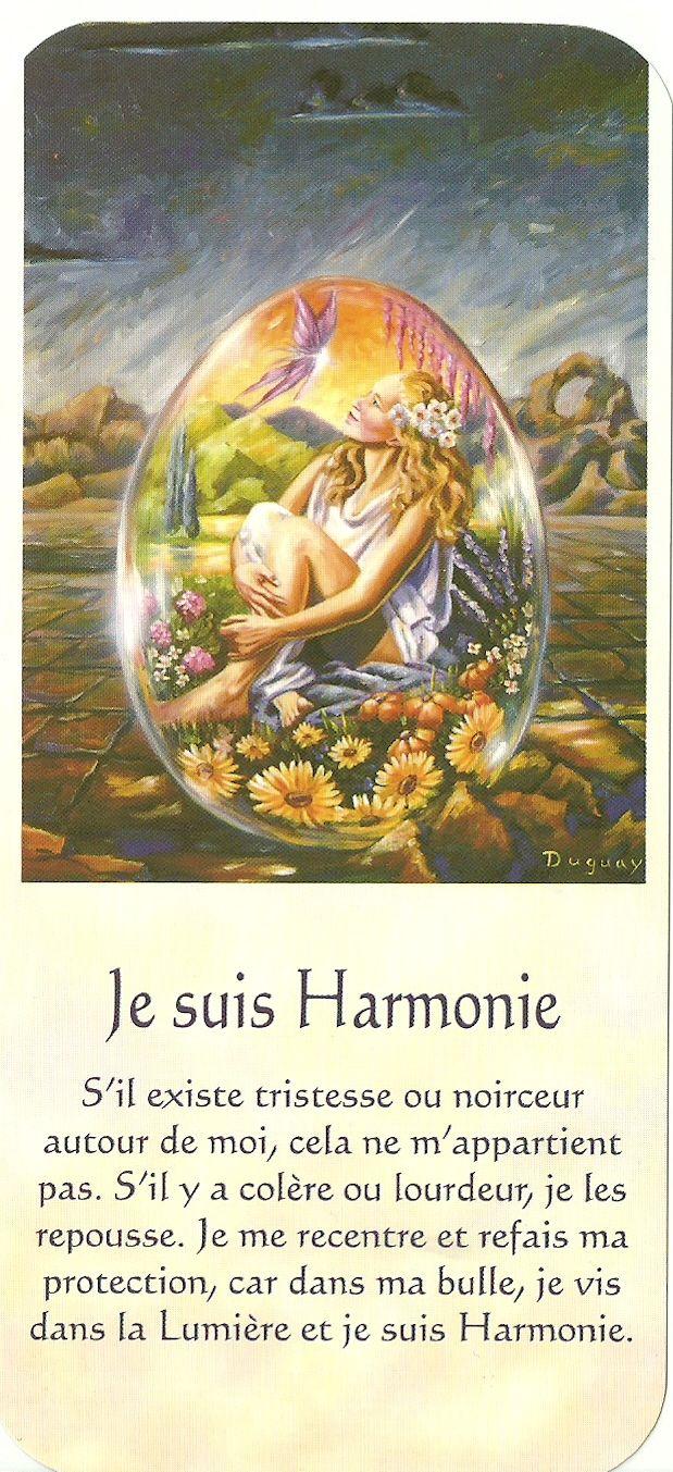 Mario Duguay- Message Lumière Je suis Harmonie