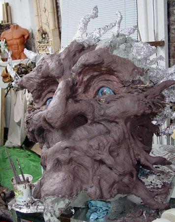 Stone Art Blog: Tree Art for National Tree Week... tree troll face