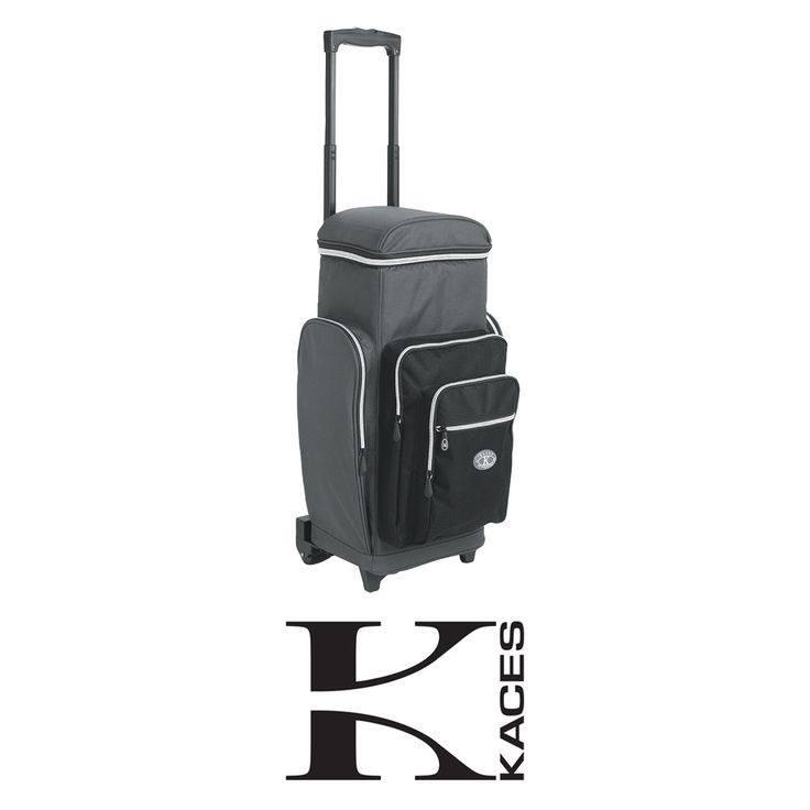 Kaces KSBP-2W Portable Studio Backpack with Wheels