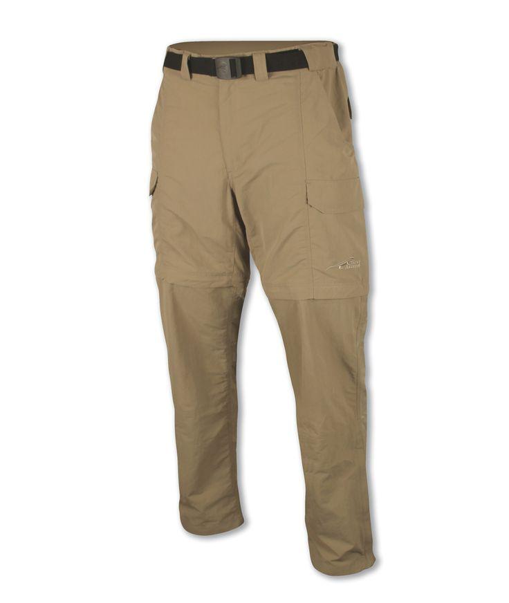 Mens Zip-Off Utility Pants