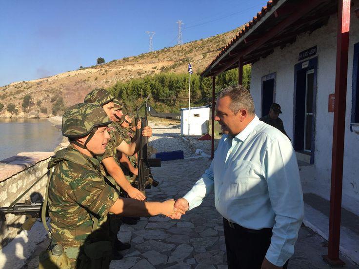 Απόστρατοι Αξιωματικοί Αεροπορίας : ΥΠΕΘΑ: Ενισχύει με στρατό τα βόρεια σύνορα