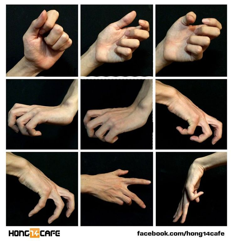 """elphabaforpresidentofgallifrey: """"forzamentis: """" Fantastic hands references by the website Hong14cafe. Hong14cafe: Facebook   Forum """" ok for a hot second i thought the second hand looked like jar jar binks """""""