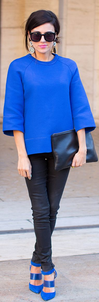 Fall Color Crush: Cobalt by Hello Fashion