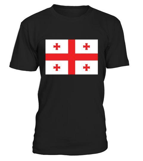 Flag Of Georgia Georgian National Flag Shirt