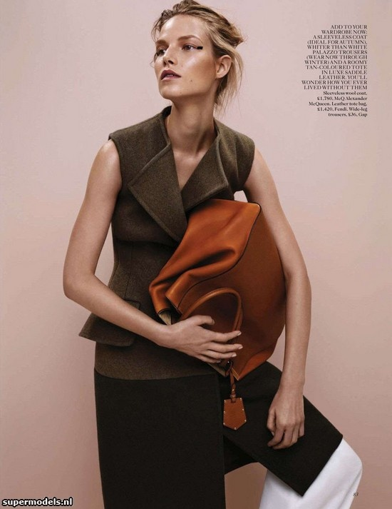 Suvi Koponen in 'A Clean Slate' - Photographed by Josh Olins (Vogue UK July 2012)    Complete shoot after the click...