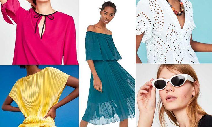 Zara donna primavera estate 2018: Catalogo collezione - https://www.beautydea.it/zara-donna/ - Tutti i trend moda ma anche tessuti inglesi e dettagli etnici nel nuovo catalogo Zara primavera estate 2018! More