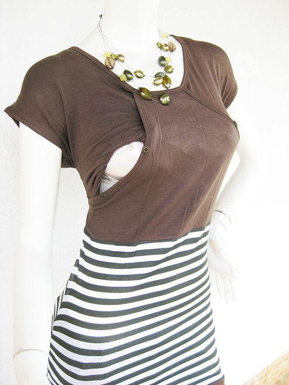 MIKA Maternity Clothes Nursing Top by ModernMummyMaternity on Etsy, $28.00
